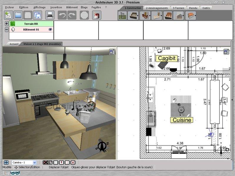 Un logiciel de architecte 3d gratuit l 39 impression 3d for Architecte 3d gratuit