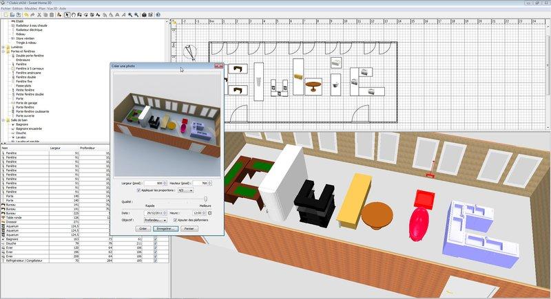 Simulateur maison 3d simulation d chambre couleurs for Simulation cuisine 3d en ligne