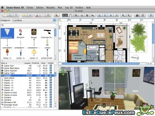 Un faire plan appartement 3d gratuit l 39 impression 3d for Maison 3d mac