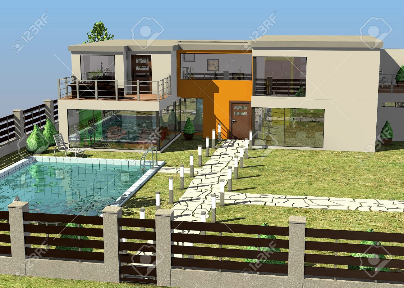 Architecture maison l 39 impression 3d for Architecture des villas modernes