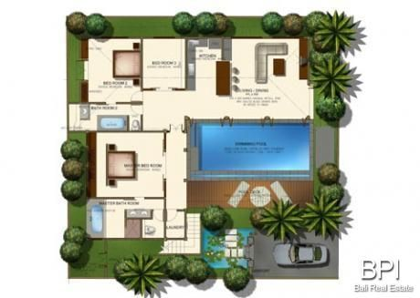 Plan villa l 39 impression 3d for Plan de villa style americain