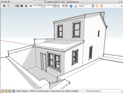 Un logiciel 3d appartement l 39 impression 3d for Logiciel appartement 3d