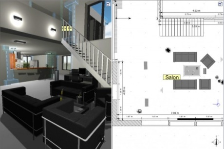 Un architecte d int rieur 3d gratuit l 39 impression 3d for Amenagement interieur 3d gratuit