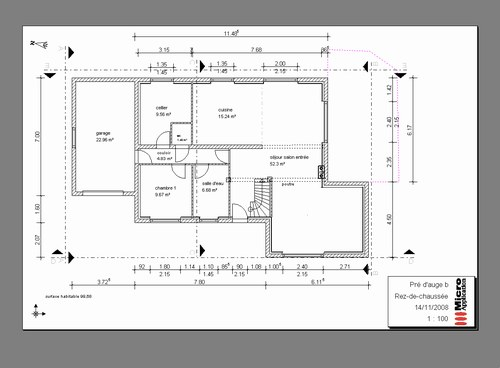 Plan de construction de maison l 39 impression 3d for Plan de maison en construction