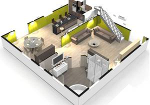 Un appartement 3d l 39 impression 3d for Creer sa chambre en 3d