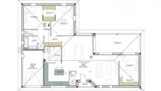 Plan maison moderne l 39 impression 3d for Plan maison igc