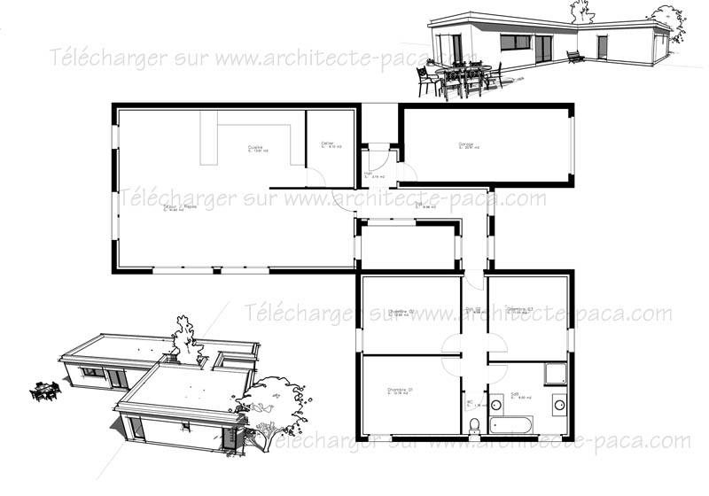 Plan maison 3d archives page 4 sur 24 l 39 impression 3d for Architecture de maison gratuit