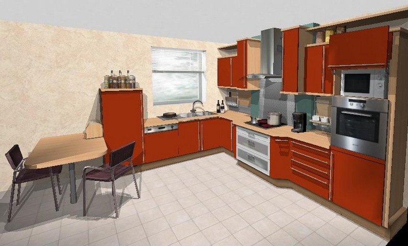 un dessiner sa cuisine en 3d gratuitement l 39 impression 3d. Black Bedroom Furniture Sets. Home Design Ideas