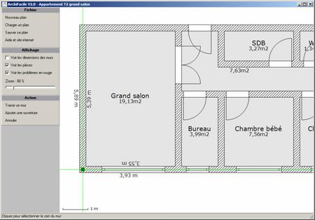 logiciel gratuit pour faire plan de maison l 39 impression 3d. Black Bedroom Furniture Sets. Home Design Ideas