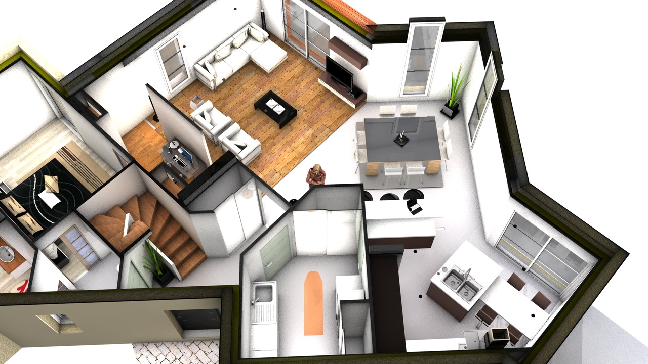 un logiciel creation plan 3d l 39 impression 3d. Black Bedroom Furniture Sets. Home Design Ideas