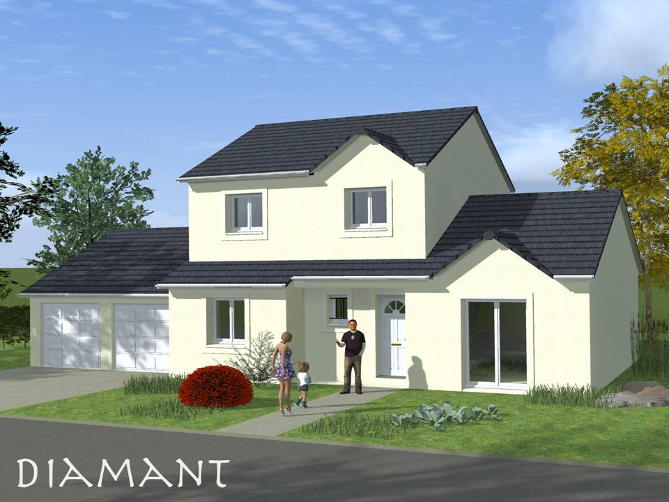 Beautiful affordable modele maison a construire with for Exemple de maison neuve