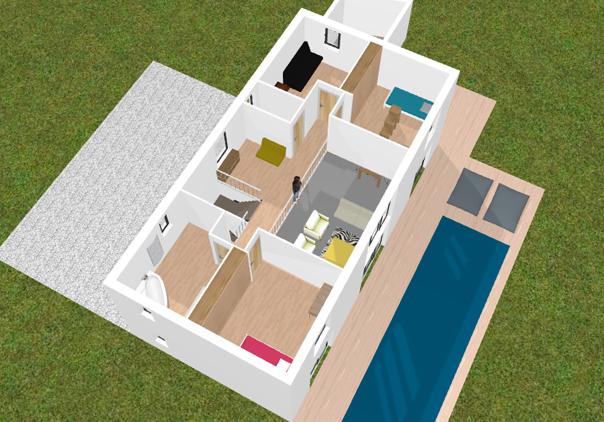 Logiciel plan maison 3d facile gratuit l 39 impression 3d - Logiciel plan maison facile ...