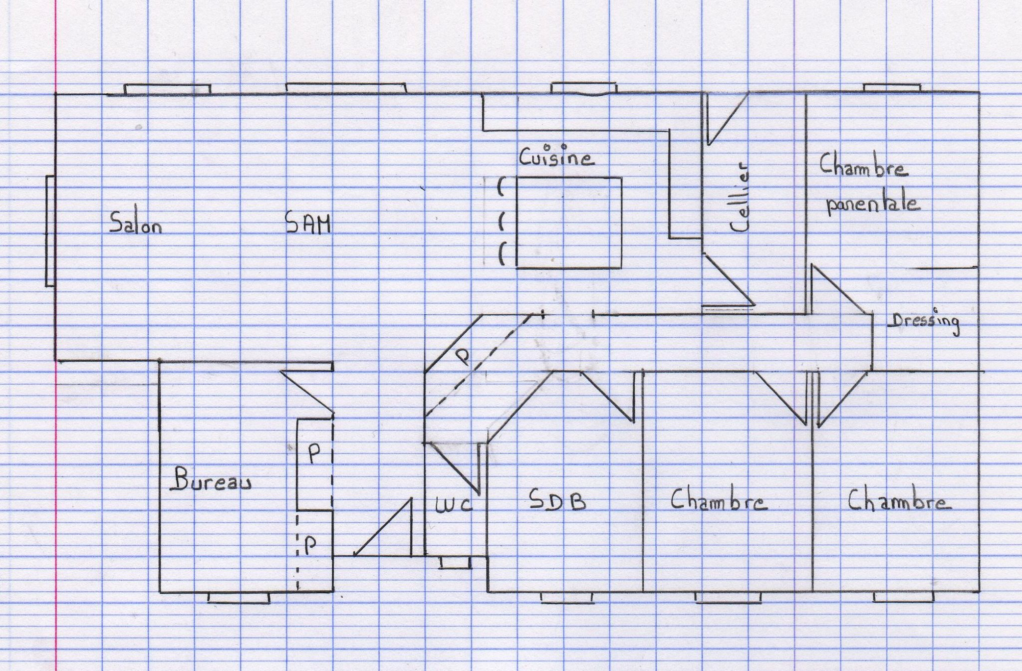 faire un plan gratuit best faire son plan de maison with plan de with dessin maison facile - Faire Un Plan De Maison Facilement