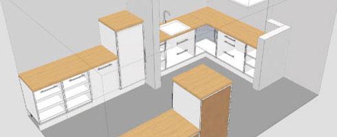 Un logiciel conception cuisine l 39 impression 3d for Logiciel modelisation cuisine