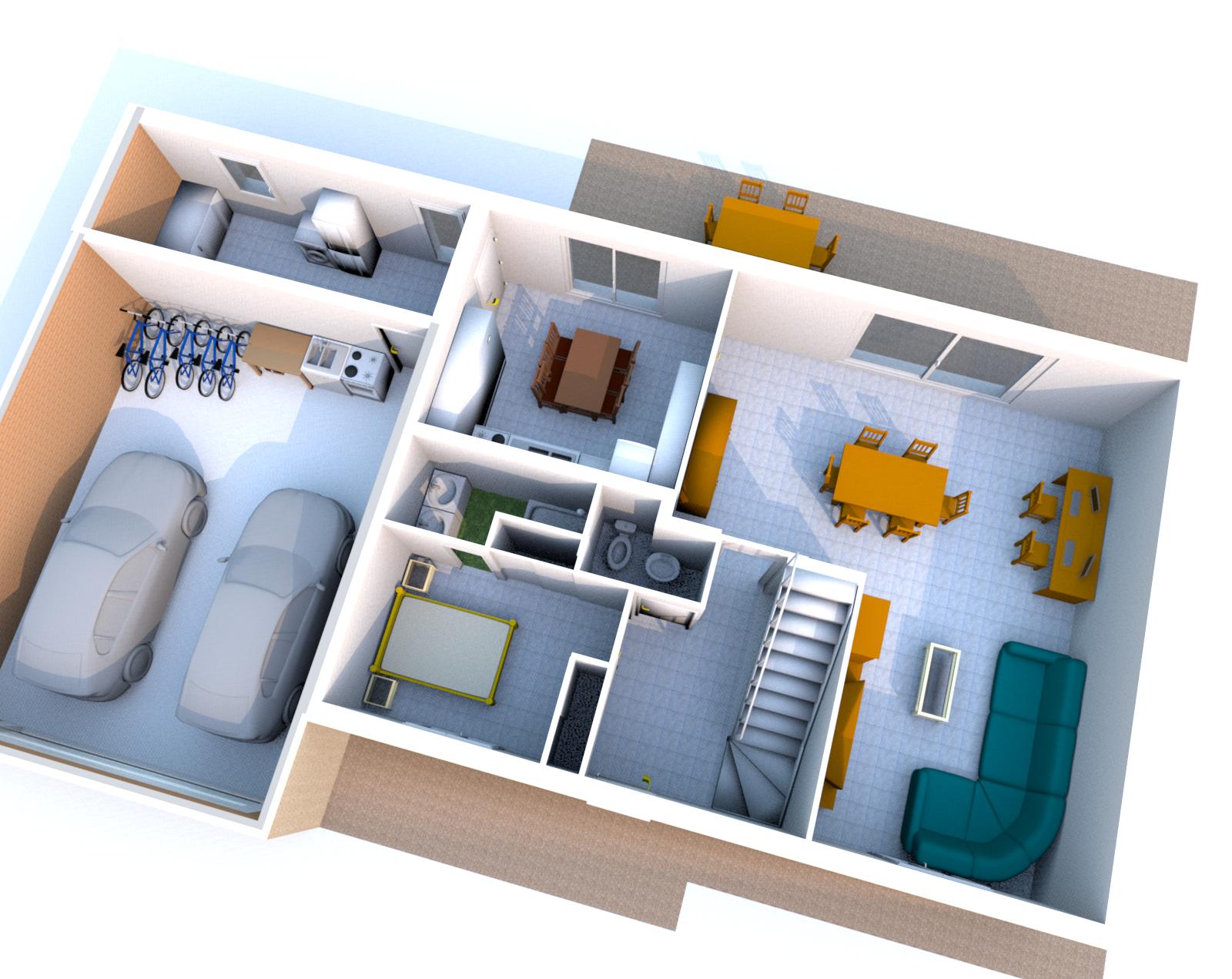 Un Dessiner Plan De Maison En 3d Gratuit L 39 Impression 3d