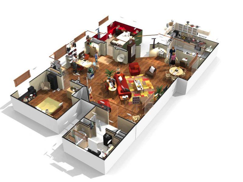 Logiciel plan de maison 3d gratuit l 39 impression 3d - Logiciel gratuit plan maison 3d ...