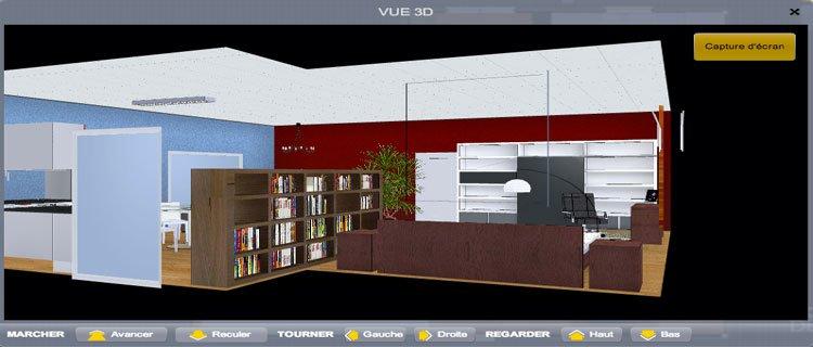 Un amenagement interieur 3d en ligne gratuit l 39 impression 3d for Logiciel architecture interieur 3d gratuit