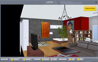 un logiciel am nagement int rieur gratuit l 39 impression 3d. Black Bedroom Furniture Sets. Home Design Ideas