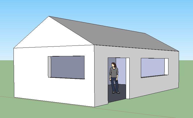 Un dessiner une maison en 3d l 39 impression 3d - Dessiner sa maison en 3d ...