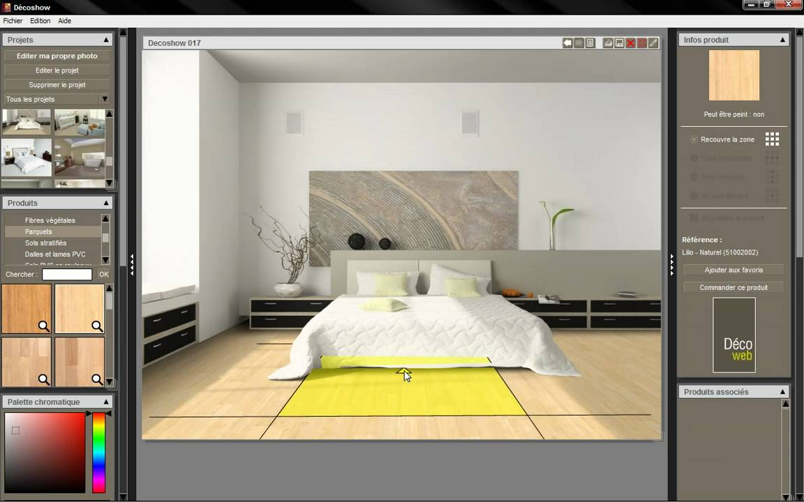 un logiciel decoration interieur gratuit l 39 impression 3d. Black Bedroom Furniture Sets. Home Design Ideas