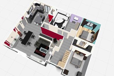 Cr er plan maison 3d gratuit l 39 impression 3d for Creer plan maison 3d