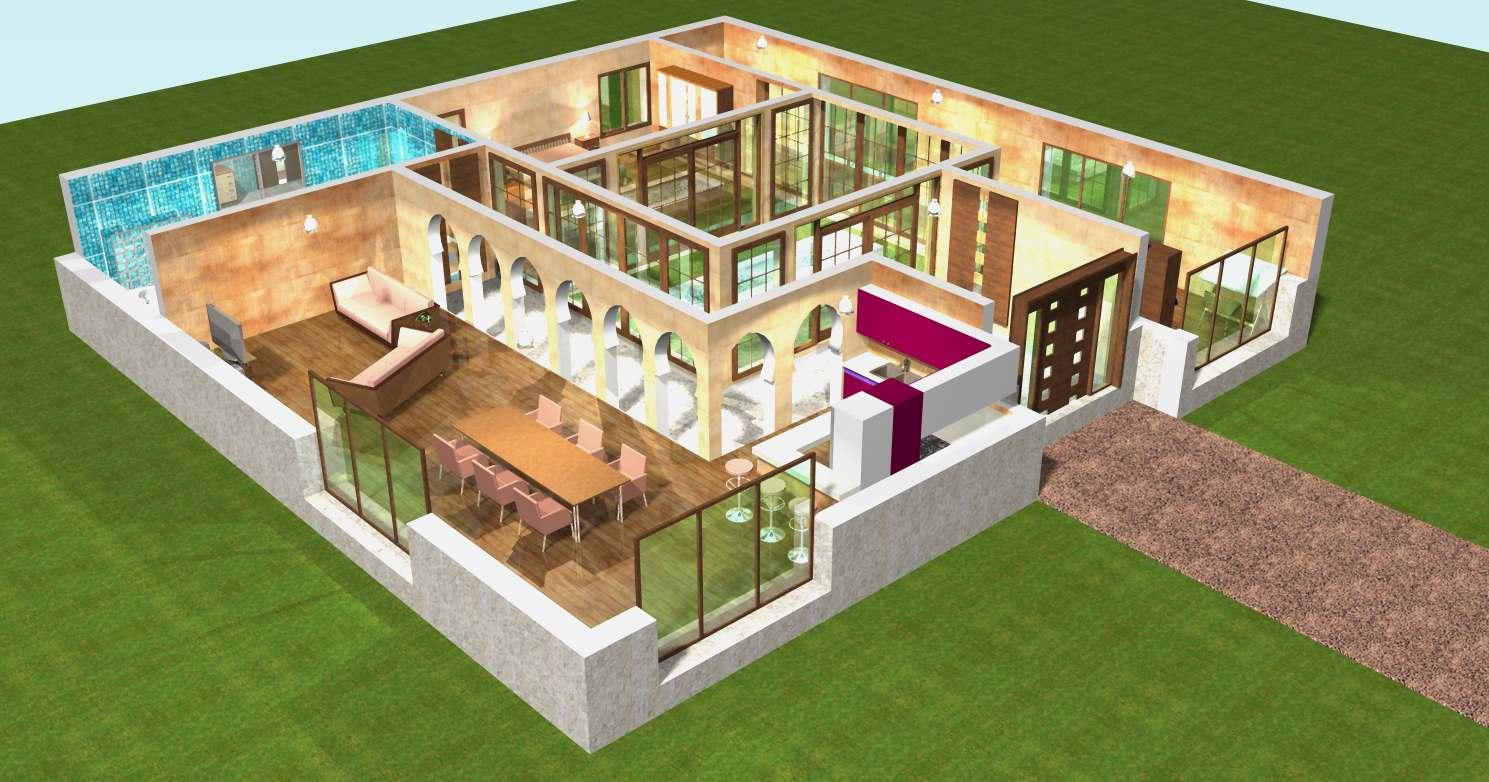 un plan en trois d - l'impression 3d - Comment Faire Un Plan De Maison En 3d Gratuit
