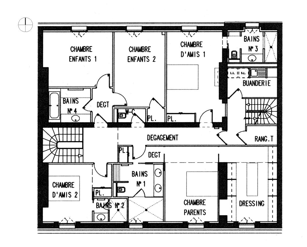 Plan Maison Moderne 3d 6 Architecture Dinterieur Et Plans 3d Maison
