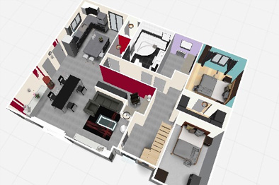 Un plan de maison 3d gratuit t l charger l 39 impression 3d for Plan de maison 3d gratuit telecharger
