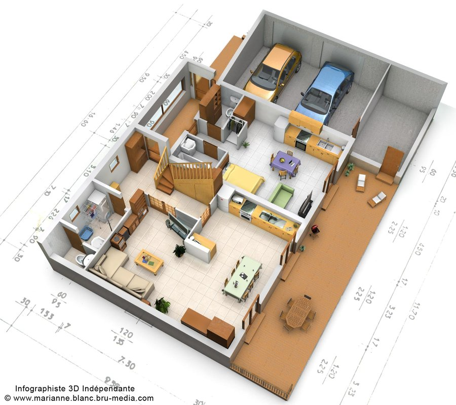Un dessiner plan maison 3d l 39 impression 3d for Dessiner plan maison 3d