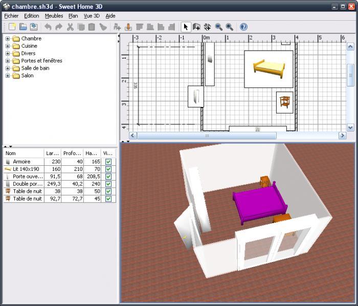logiciel de construction 3d gratuit en francais. Black Bedroom Furniture Sets. Home Design Ideas