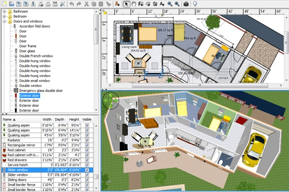 Un site d architecture 3d gratuit l 39 impression 3d for Logiciel creation plan maison
