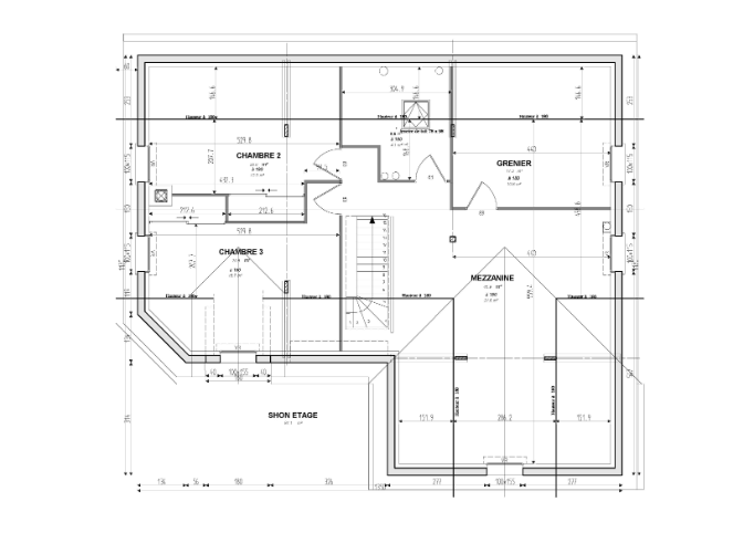 Un dessiner un plan de maison l 39 impression 3d for Dessiner plan maison