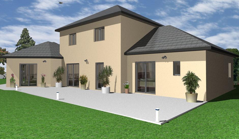 Plan maison 3d exterieur - Creer plan maison gratuit ...