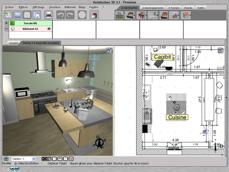 Logiciel gratuit architecte d interieur photos de for Architecte interieur 3d gratuit