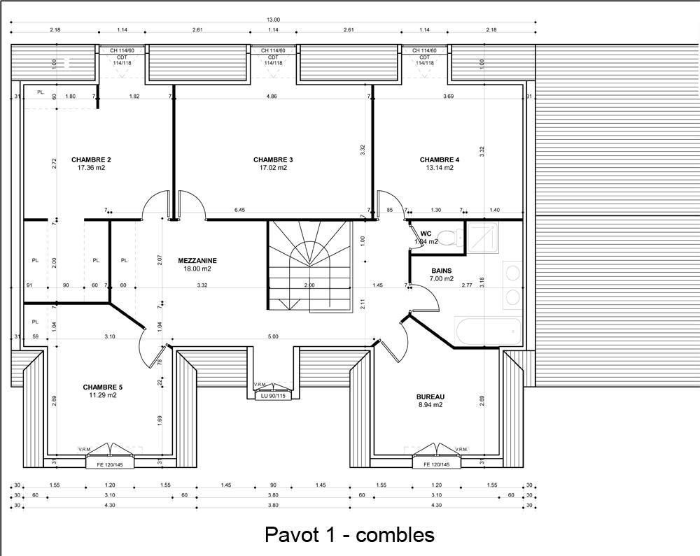 Modele plan maison - L'impression 3D