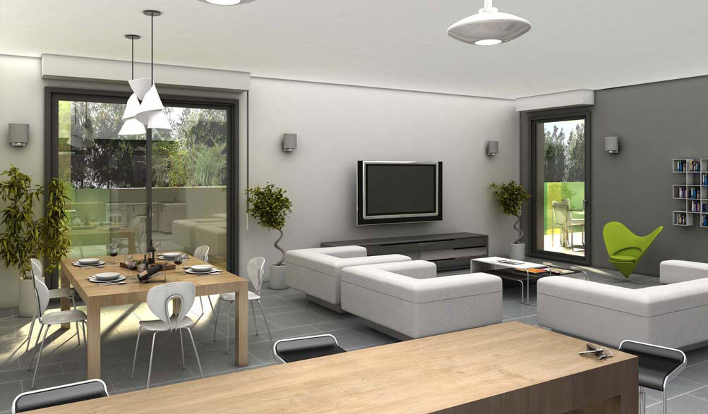 Amenagement Interieur 3D Gratuit - Photos De Conception De Maison