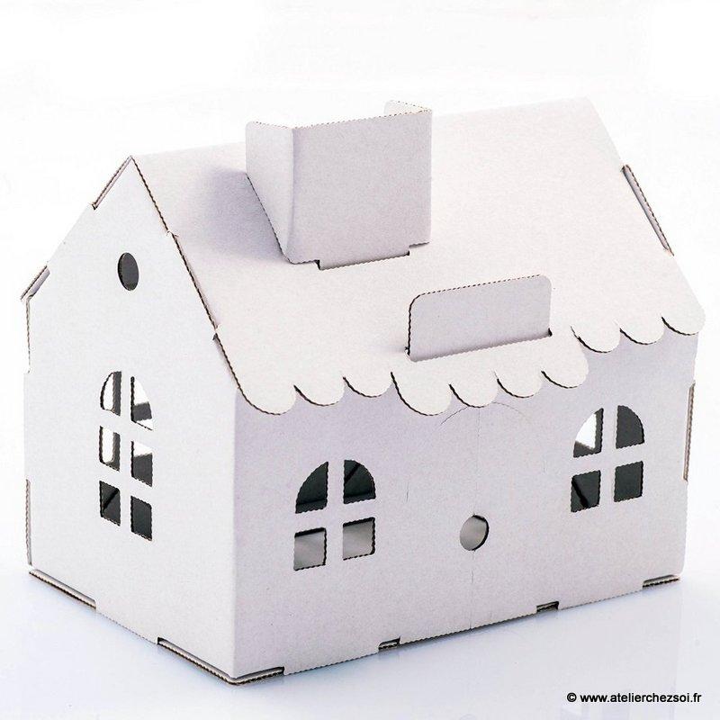 comment faire une maison en carton l 39 impression 3d. Black Bedroom Furniture Sets. Home Design Ideas
