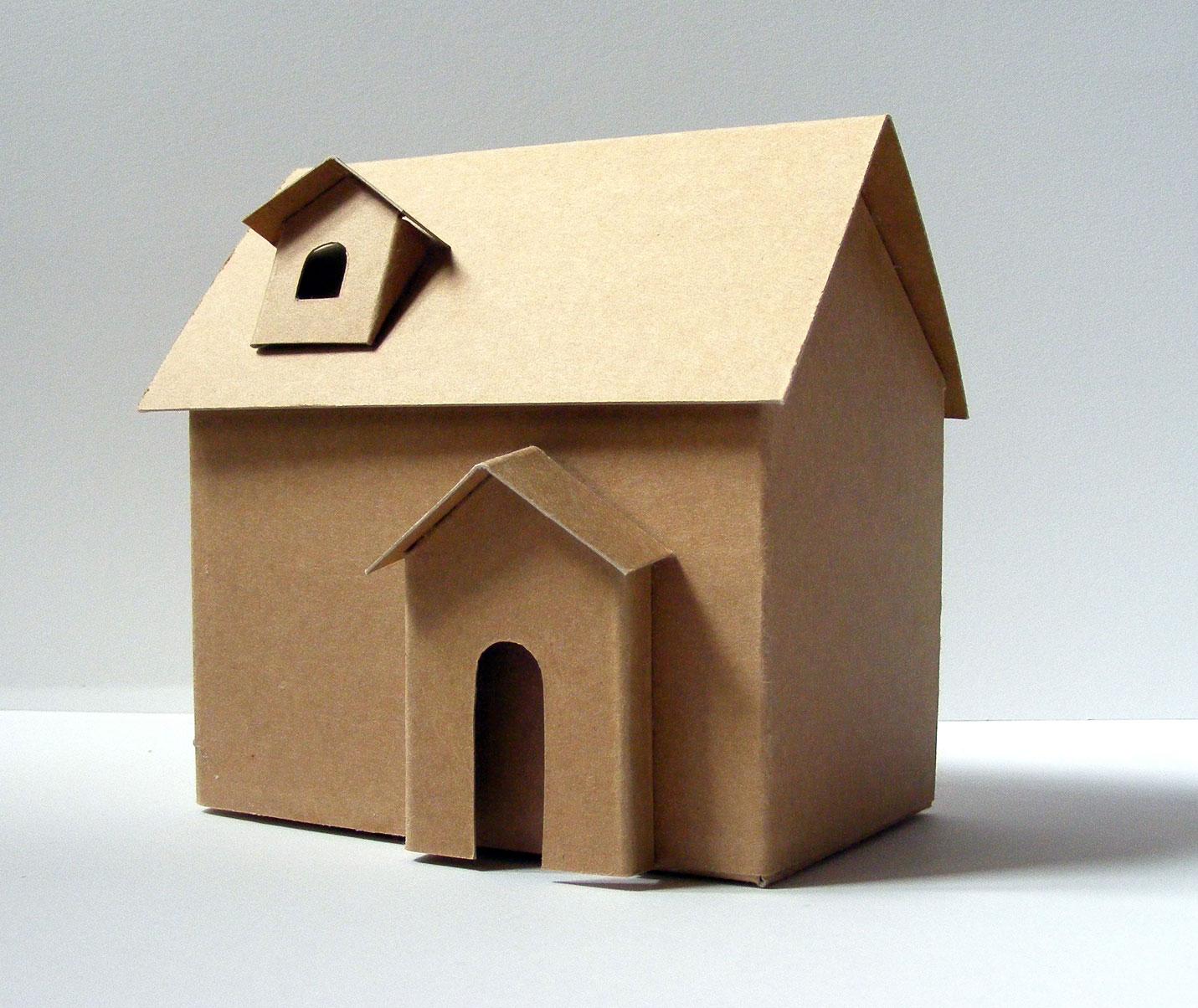 comment faire une maquette de maison en carton l. Black Bedroom Furniture Sets. Home Design Ideas