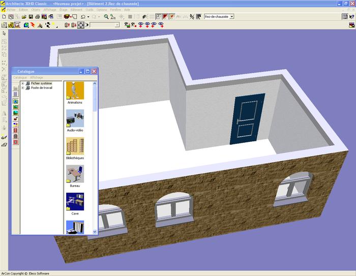 telecharger architecte 3d l 39 impression 3d. Black Bedroom Furniture Sets. Home Design Ideas