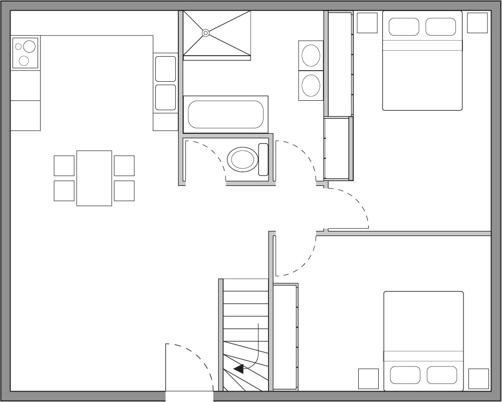 Comment dessiner un plan de maison en perspective auto for Dessiner un plan