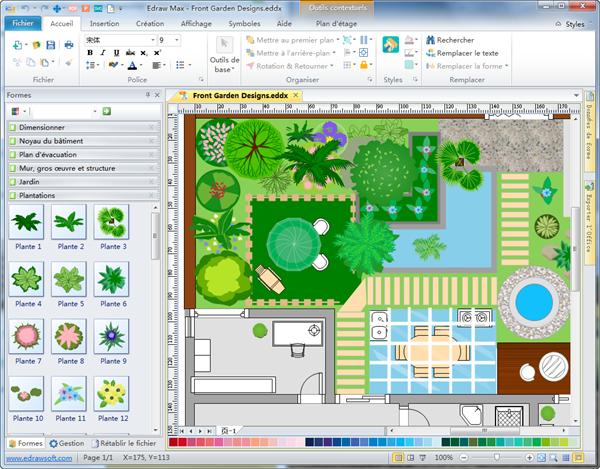 Logiciel creation plan l 39 impression 3d - Paysager son jardin logiciel gratuit ...
