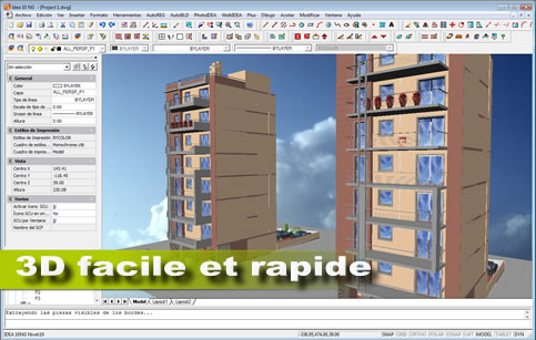 Logiciel 3d architecture l 39 impression 3d for Dessin batiment 3d