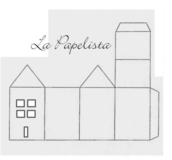 Patron de maison en papier l 39 impression 3d - Maison en papier a imprimer ...