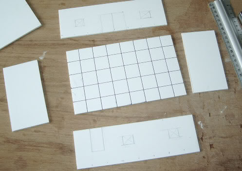 maison en carton plume l 39 impression 3d. Black Bedroom Furniture Sets. Home Design Ideas