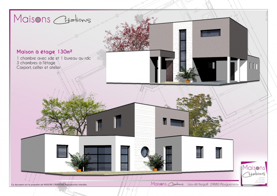 Creation maison 3d cr ation d 39 une perspective 3d lotissement et maisons creation plan - Creation ligne telephonique maison neuve ...