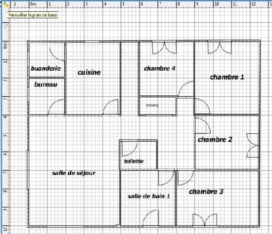 plan maquette maison gratuit l 39 impression 3d. Black Bedroom Furniture Sets. Home Design Ideas