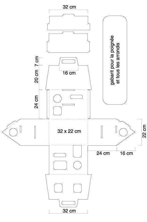 Bricolage maison en carton l 39 impression 3d for Bricolage petits plans de maison