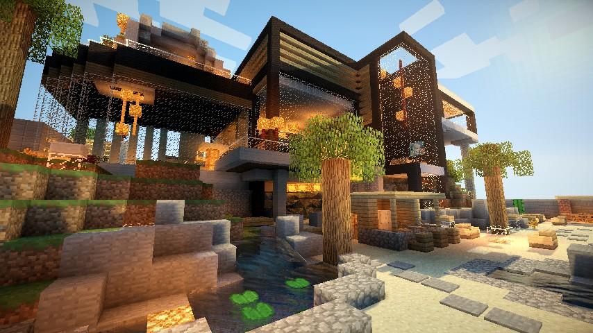 Best Minecraft Construction De Maison De Luxe Gallery - Amazing ...