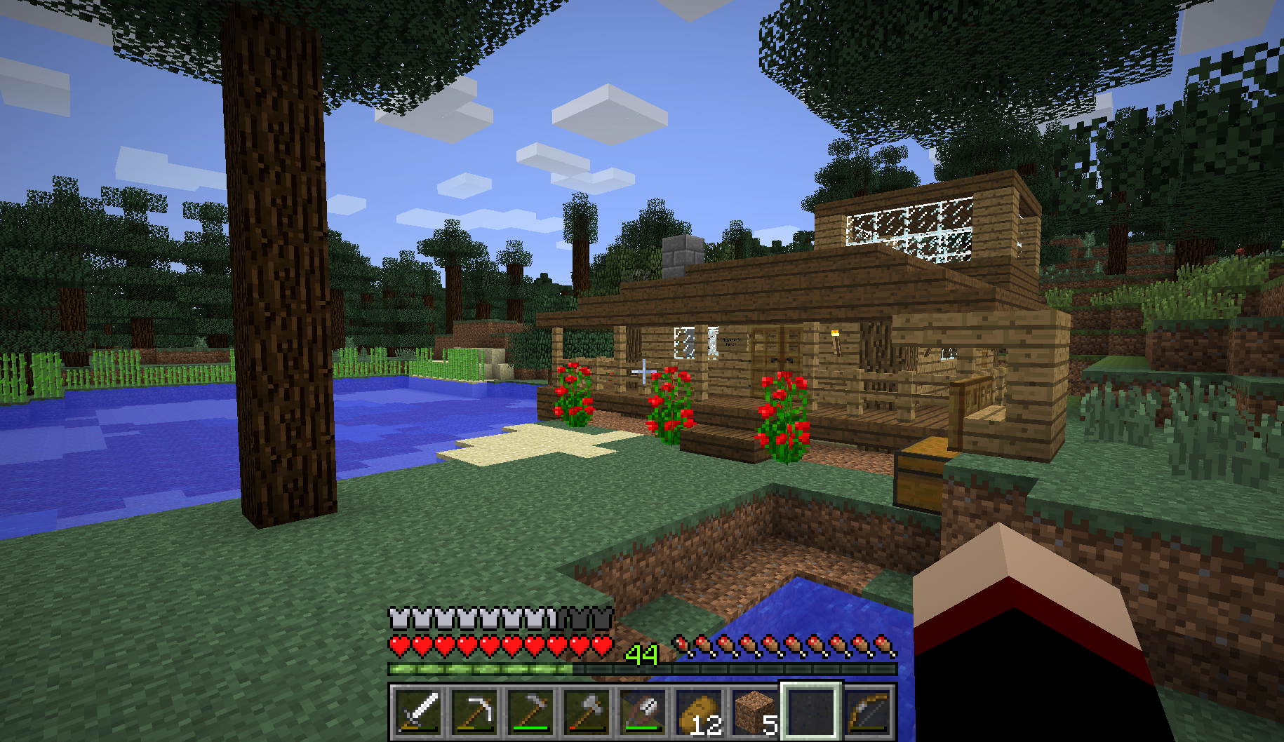 Belle Maison Minecraft : Plus belle maison sur minecraft l impression d