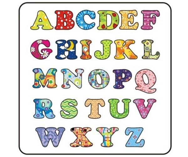 Lettres de l alphabet imprimer l 39 impression 3d - Grande lettre alphabet a imprimer ...